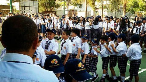Hari Pertama Masuk Sekolah Tahun Ajaran Baru 2018-2019
