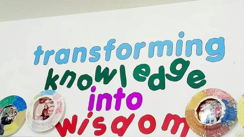 Transforming Knowledge into Wisdom