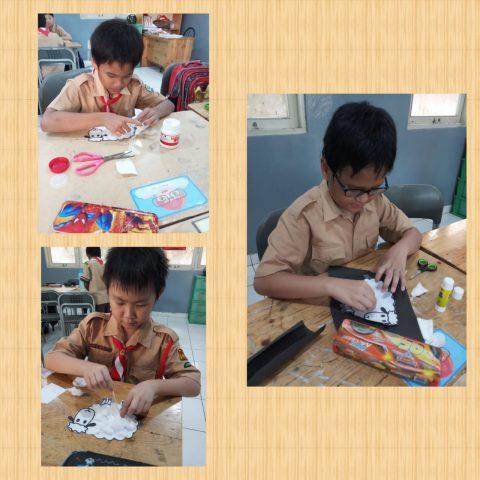 "Grade 4 & 5 Art and Craft ""Menghias Domba"""